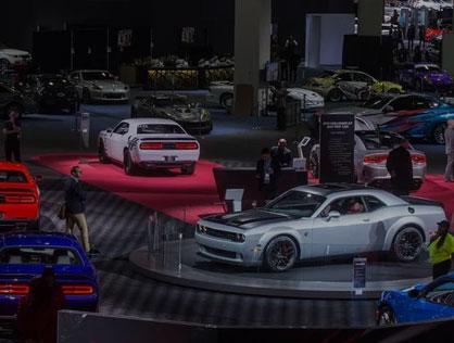Les Salons De L'auto Américains
