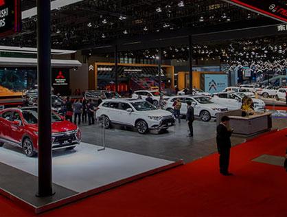 Les Salons De L'auto Asiatiques
