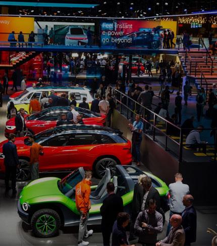 Les Salons De L'auto Européens